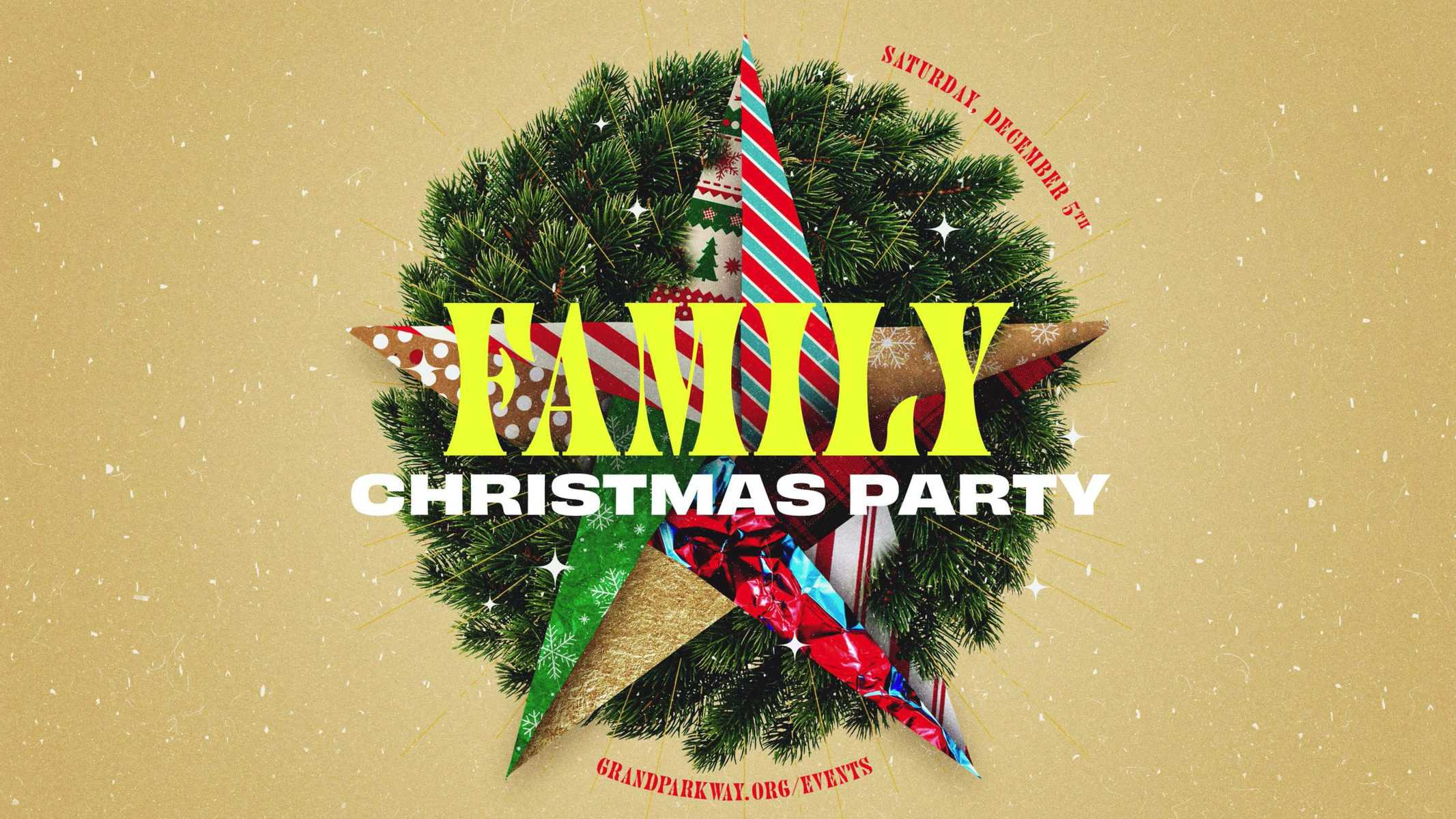 family-christmasy-party
