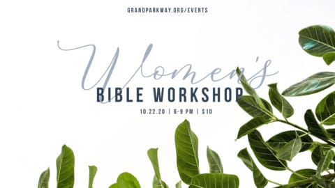 Women's Bible Workshop